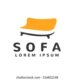 Furniture Vector Logo template. Appointment Logo template. Appointment icon. Furniture store logo. Furniture design. Furniture isolated. Sofa isolated. Sofa interior. Sofa icon.
