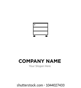 furniture logo samples. Furniture Wardrobe Company Logo Design Template, Business Corporate Vector Icon Samples D