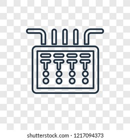 fuse box icon images, stock photos \u0026 vectors shutterstockfuse box concept vector linear icon isolated on transparent background, fuse box concept transparency concept