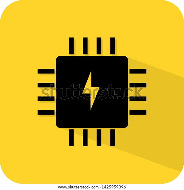 Fuse Box Ic Circuit Icon Logo Stock Vector (Royalty Free) 1425959396Shutterstock