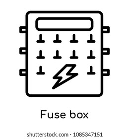 fuse box icon images stock photos vectors shutterstock rh shutterstock com fuse box inspection in colorado springs fuse box inspection in colorado springs