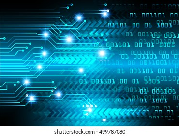 future technology, blue arrow light cyber security concept background, abstract hi speed digital data internet website. motion move speed blur. pixel vector