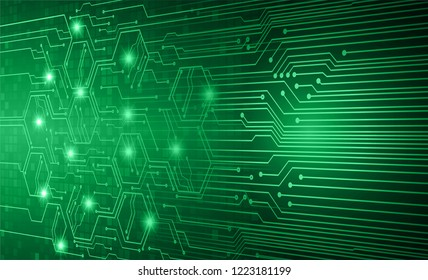 future technology, green cyber security concept background, abstract hi speed digital internet.motion move blur.