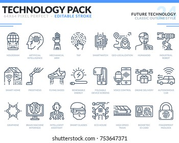 Line Icons Biometrics Images, Stock Photos & Vectors