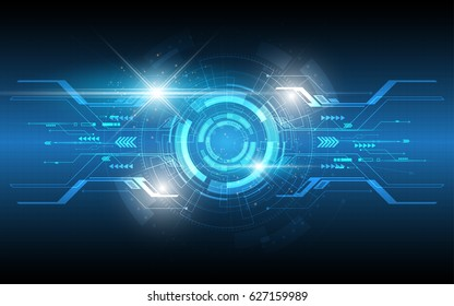 Futuristic abstract technology background innovation concept vector illustration