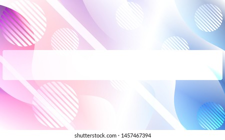 Futuristic Background With Color Gradient Geometric Shape for Your Design Landing Page, Ad, Banner, Cover Page. Vector Illustration with Color Gradient.
