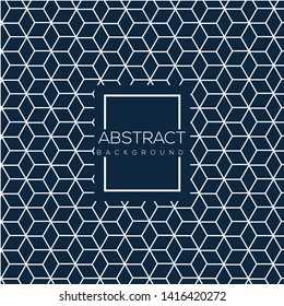 Futuristic hexagon abstract background design. Pattern design