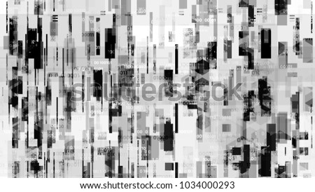Futuristic Matrix Cyberspace Background with Binary Code. Artificial Intelligence System Texture. Data Analytic Technology Pattern. Flyer, Cover Design Background.