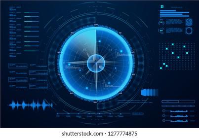 Ilustraciones, imágenes y vectores de stock sobre Sonar Monitor