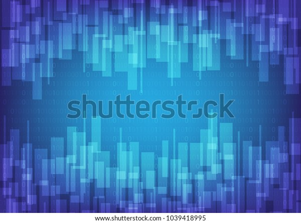 Futuristic technology abstract background with smart concept, Vector illustration, Space for custom to put a message.