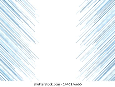 Futuristic technology modern background with thin blue lines. Abstract vector design