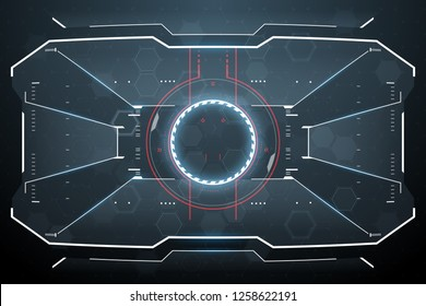 Futuristic virtual screen