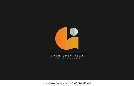 G, GG Letter Logo Design with Creative Modern Trendy Typography