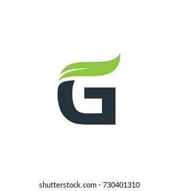 G Leaf logo