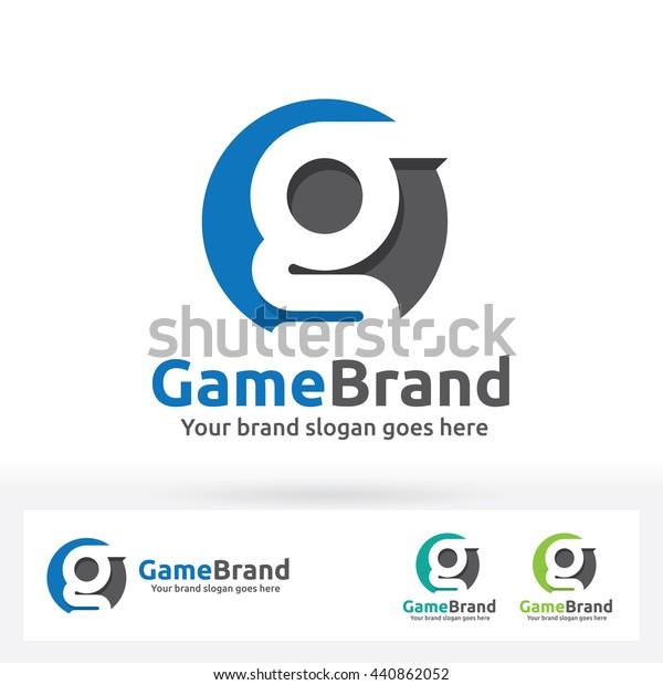 G Letter Brand Logo G Letter Stock Vector (Royalty Free