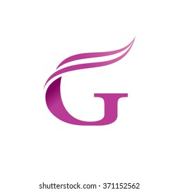 G Letter business logo design template