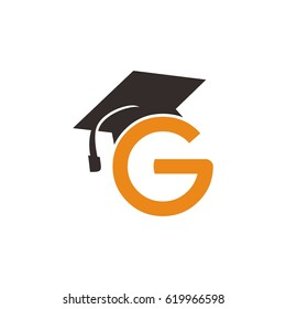 G letter and graduation