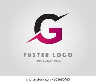 G Letter Logo Design Template Element