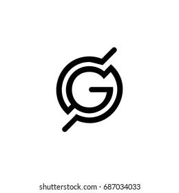 g letter logo. globe logo