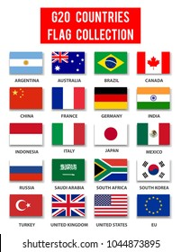 G20 Countries Flag Collection - Complete