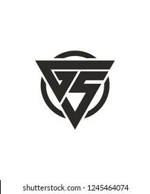 G5 5G Triangle Circle Vector Logo Design for Company