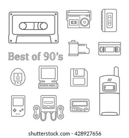 gadget of 90s  icon
