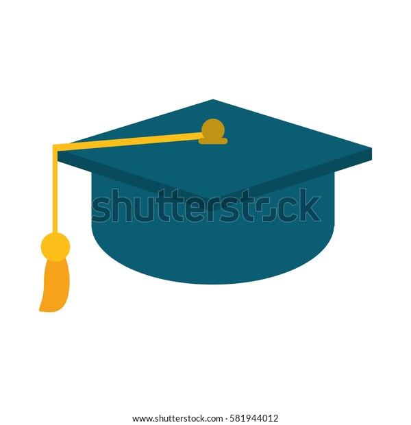 gaduation cap education symbol