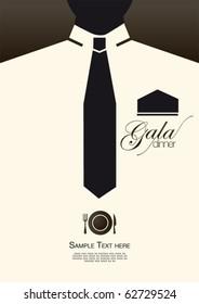 gala dinner card