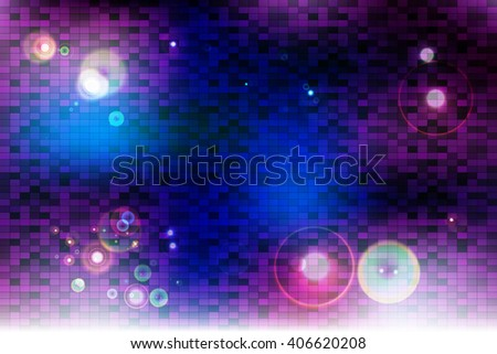 galaxy theme bright background image square stock vector royalty