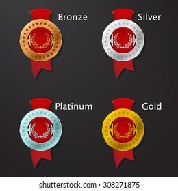 game achievement medals
