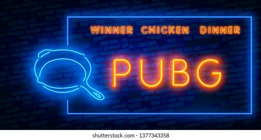pubg win screen font