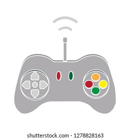 game controller icon-joystick sign-console illustration-gaming illustration-videogame vector