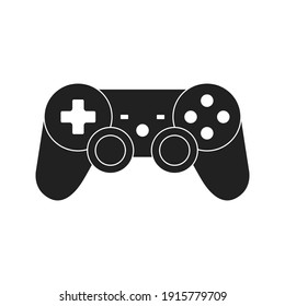 game controller vector icon. joystick icon. technology and entertainment, vector graphics. vector illustration