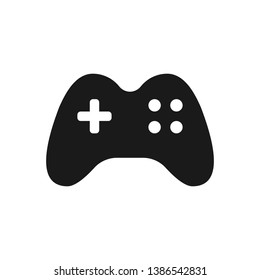 Game controller vector icon. Video game console. Joystick icon illustration for mobile and web concept
