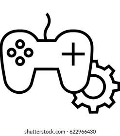 Game development Vector Icon
