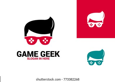 Game Geek Logo Template Design