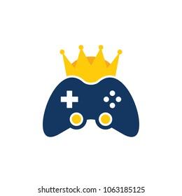 Game King Logo Icon Design