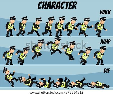 traffic police game
