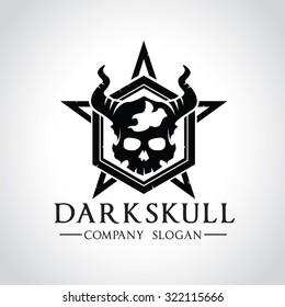 Game logo,Vector logo template