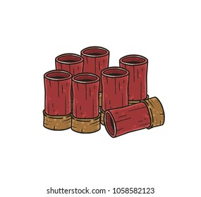 Game shotgun ammo shells
