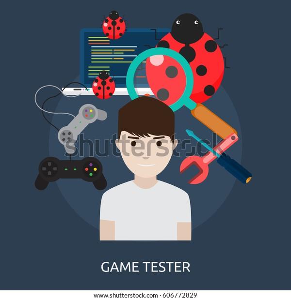 Game Tester Conceptual Design