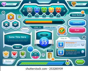 Game Ui Images, Stock Photos & Vectors | Shutterstock