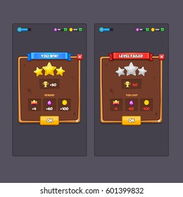 Game Ui Kit Images, Stock Photos & Vectors | Shutterstock