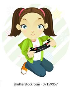 Tomboy Girl Images Stock Photos Vectors Shutterstock
