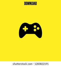 gamepad controller icon vector. gamepad controller vector graphic illustration