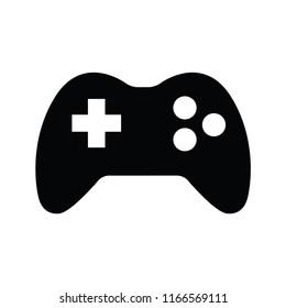 Gamepad controller icon. Vector image
