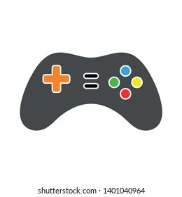 Gamepad controller vector icon. filled flat sign for mobile concept and web design. Game Joystick glyph icon. Joystick sign icon. Video game symbol.