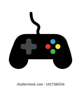 Gamepad controller vector icon. filled flat sign for mobile concept and web design. Game Joystick glyph icon. Symbol, logo illustration. Pixel perfect vector graphics