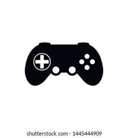 Gamepad Icon in trendy flat style isolated on white background. Game symbol for your web design, UI. Vector illustration, EPS10.