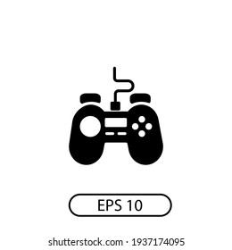 Gamepad icon vector. Logo Vektor simple desain